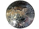USAアメリカ合衆国 大サイズ$1ドル硬貨裏面 アイク・ダラー 白頭鷲 メダル/コインコンチョCONCHO