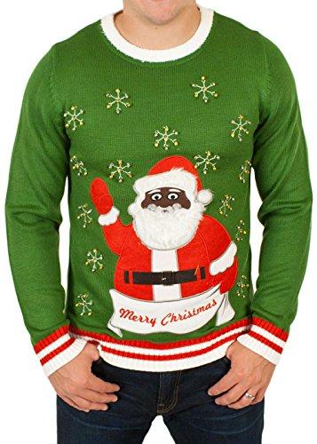 Black Santa Claus with Bells
