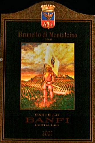 2007 Castello Banfi Brunello Di Montalcino 750 Ml