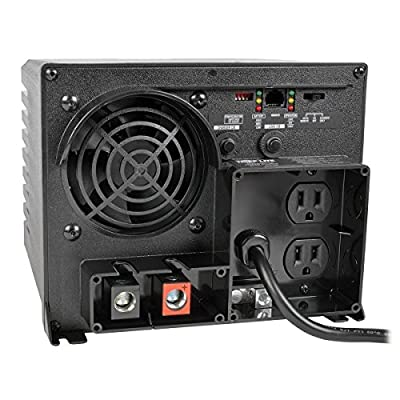 Tripp Lite APS750 750W 12V DC to AC Inverter with Automatic Line-to-Battery 20-Amp Charger