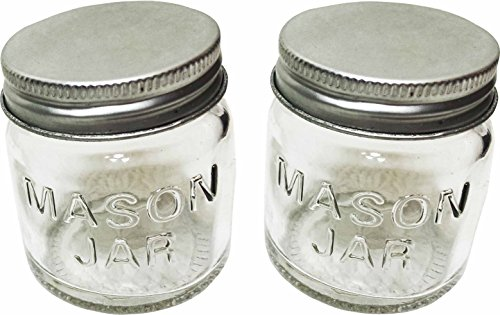 Cooking Concepts Mini Storage Jar with Lids - 2 Pack Mini Glass Mason Jars (1 Pack) (1 2 Ounce Mason Jars compare prices)