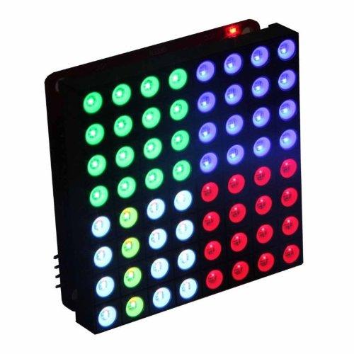 Shanhai Led Matrix 8X8 Triple Color Rgb Common Anode Display 5Mm Dia