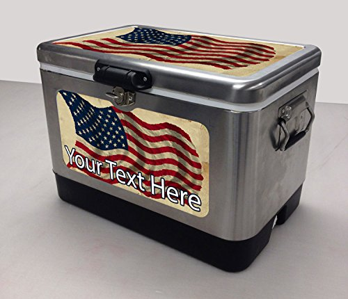 Vintage Ice Chest Cooler front-40189