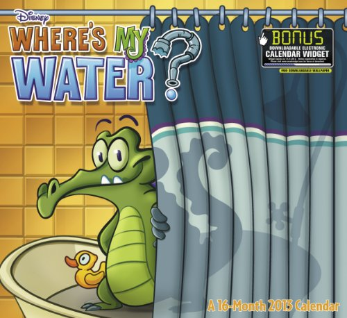 2013 Where's My Water Wall Calendar