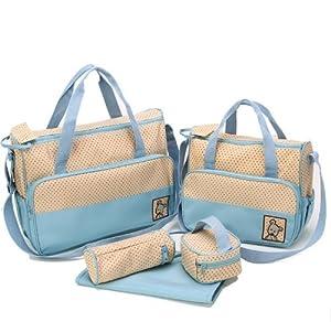 MANGO-Set 5 kits Bolso/Bolsa/Bolsillo Maternal Bebé para carro carrito biberón colchoneta comida pañal de MANGO en BebeHogar.com
