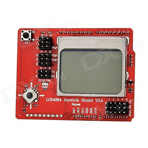 Next Keyes Lcd 4884 Rocker Expansion Board - Red + Black Ard0545