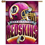 NFL Washington Redskins 27-by-37-Inch Vertical Flag