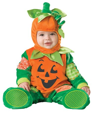 InCharacter Unisex-baby Infant Pumpkin Costume