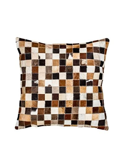 Torino Multi-Patch Pillow, Tricolor