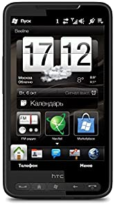 HTC HD2  Smartphone (HTC Sense, 5MP, LED Flash, Windows Mobile 6.5)