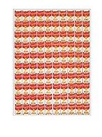 Artopweb Panel Decorativo One Hundred Cans, 1962 Multicolor