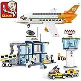 Sluban Building Block Plane City Airport B0367 678pcs 8dolls Compatible