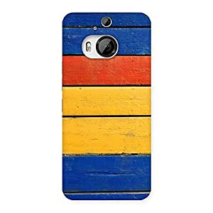 Wooden Decks Back Case Cover for HTC One M9 Plus
