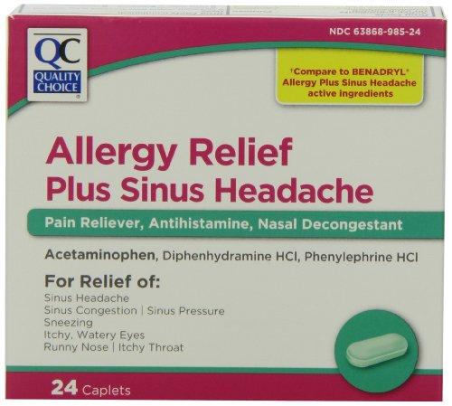 Choix Qualité Sinus allergie Maux de tête,
