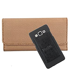 DooDa PU Leather Wallet Flip Case Cover With Card & ID Slots For Samsung Galaxy Star Advance G350e