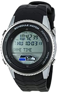 NFL Mens NFL-SW-SEA Schedule Series Seattle Seahawks Watch by Game Time