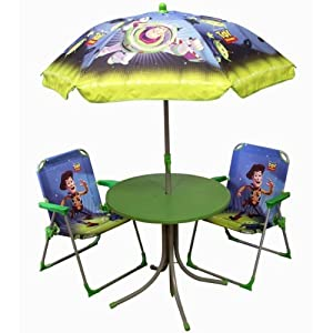 Jemini salon de jardin pour enfant toy story 4 for Salon de jardin amazon