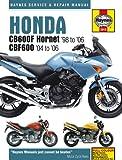 Honda Hornet CB600FS CBF600N CBF600S 1998-2006 Haynes Manual