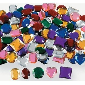 100 Plastic Jewels