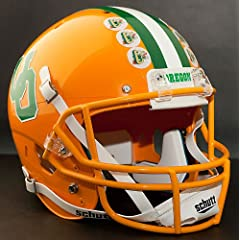 OREGON DUCKS 1984-1994 Schutt AiR XP Authentic GAMEDAY Football Helmet by ON-FIELD