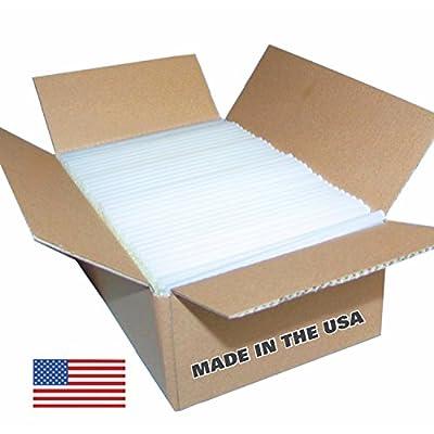 "Clear Glue Sticks 10 Lbs - Clear, High Strength Glue Sticks-standard Size 7/16"" X 10"", 180 Sticks"