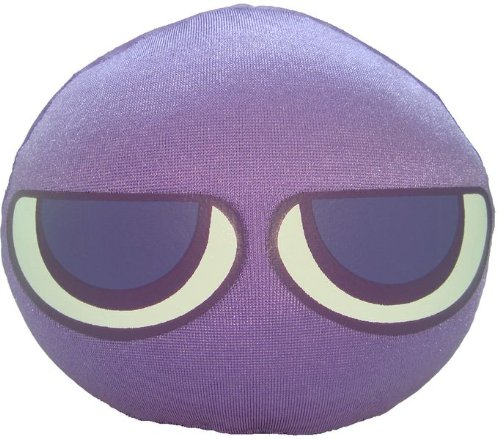 "Puyo Puyo Plush Doll: 3.5"" Purple Puyo - 1"