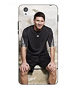 Case Cover Messi Printed Colorful Hard Back Cover For One Plus X