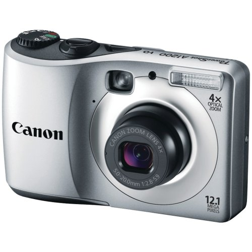 Cyber Monday Canon Powershot  A1200 12.1 MP Digital Camera with 4x Optical Zoom (Silver) Deals