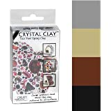 Crystal Clay 2-Part Epoxy Clay Kit- Metallics Color Mix 100g