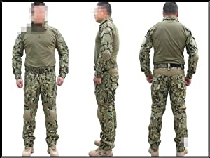Adult Military Army Tactical Series Airsoft Paintball Hunting Uniform Combat BDU Gen3... by Uniform