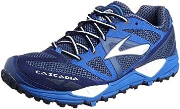 Brooks Cascadia 9 - Zapatillas de running para hombre, material sintético, color azul (Sodalite Blue/Electric/Medieval Blue ), talla 45