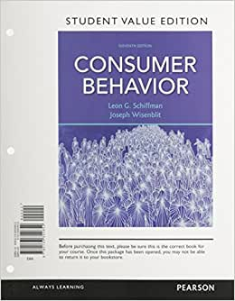 Consumer Behavior, Student Value Edition (11th Edition)