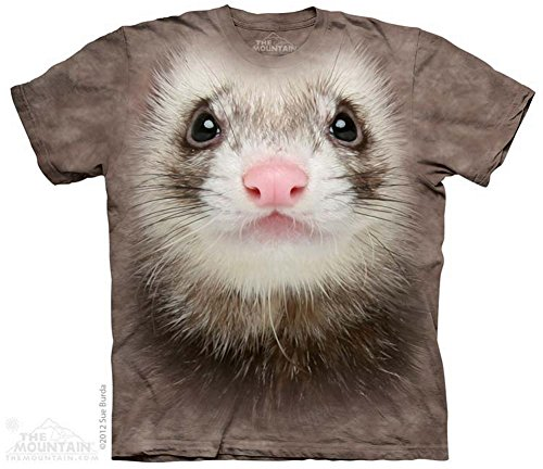 The Mountain T-Shirt Ferret Face