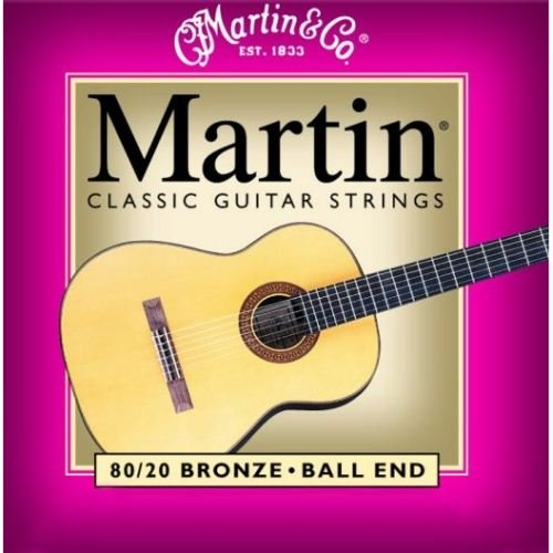 Martin M260 80/20 Bronze Ball End Classical Guitar