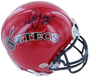 Buy NCAA San Diego State Aztecs Marshall Faulk Autographed Mini Helmet by Steiner Sports