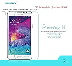 Nillkin Amazing 9H Anti Explosion Tempered Front Glass anti Scratch Screen Guard Protector - Samsung Galaxy Grand Max