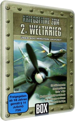 Kriegsfilme zum 2. Weltkrieg (2 DVD Metallbox-Edition)