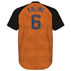 Al Kaline Detroit Tigers Majestic Cooperstown Retro Premium T-Shirt by Majestic
