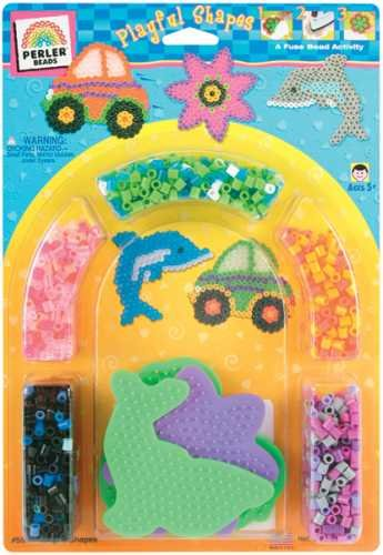 Perler Fun Fusion Activity Kit - Playful Shapes