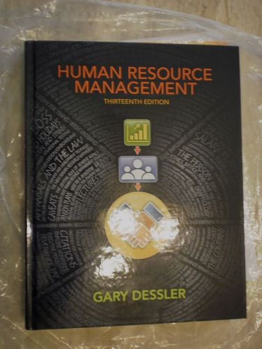 human resource management 13th edition Available in: hardcover authoritative and current information on human resource management that all managers can usethis best-selling hrm text.