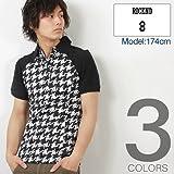 (リセンド) RICEND オリジナル プリント 天竺 素材 半袖 ポロシャツ