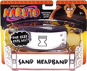 Official Mattel Naruto Sand Village Blue Headband
