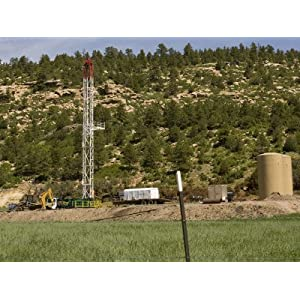 Drilling Rig Set Up for Coal Bed Methane Gas, Colorado Photographic Poster Print by Michael S. Lewis, 24x32