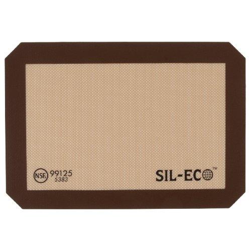 Sil-Eco E-99125 Non-Stick Silicone Baking Liner, Quarter Sheet Size, 8-1/4-Inch x 11-3/4-Inch