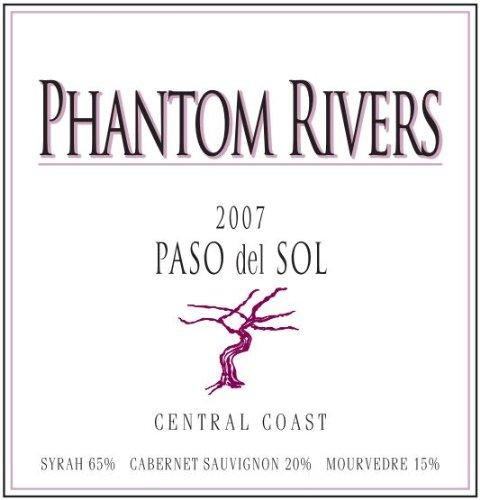 2007 Phantom Rivers Paso Del Sol Central Coast 750 Ml