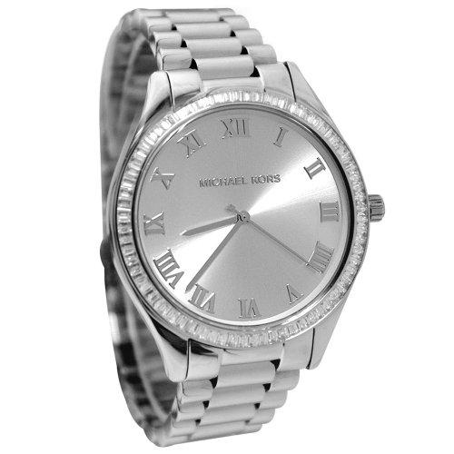 Michael Kors Blake Silver Dial Stainless Steel Bracelet Ladies Watch Mk3243