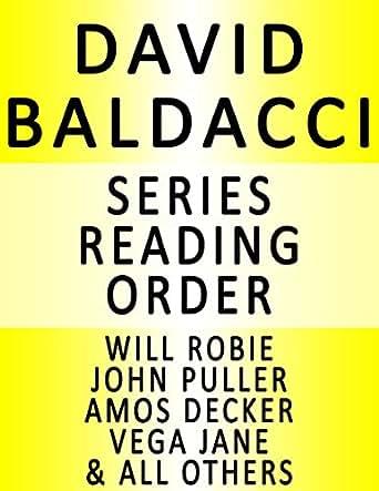 DAVID BALDACCI - SERIES READING ORDER (SERIES LIST) - IN ORDER: SHAW, WILL ROBIE, VEGA JANE