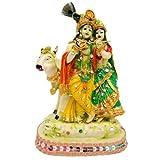 Creativity Centre Lord Gopala With Radha Rani (5 X 3 X 8 Inch)