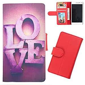 DooDa - For Samsung Galaxy S5 PU Leather Designer Fashionable Fancy Wallet Flip Case Cover Pouch With Card, ID & Cash Slots And Smooth Inner Velvet With Strong Magnetic Lock