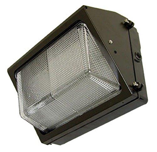 Led Wall Pack - Illumination Optics Lighting Reflex Series 30W, 2269 Lumens, 5000K, 120-277 Vac Input, Ul And Csa Wet Location Listed. Bronze Housing Wp-30-Mt-50